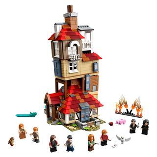 LEGO 75980 - LEGO Harry Potter - Támadás az Odú ellen