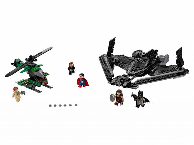 LEGO 76046 - LEGO Super Heroes - Az igazság hősei: Csata a magasban