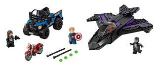 LEGO 76047 - LEGO Super Heroes - Fekete párduc üldözése