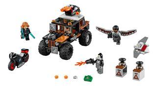 LEGO 76050 - LEGO Super Heroes - Halálfej veszélyes lopása
