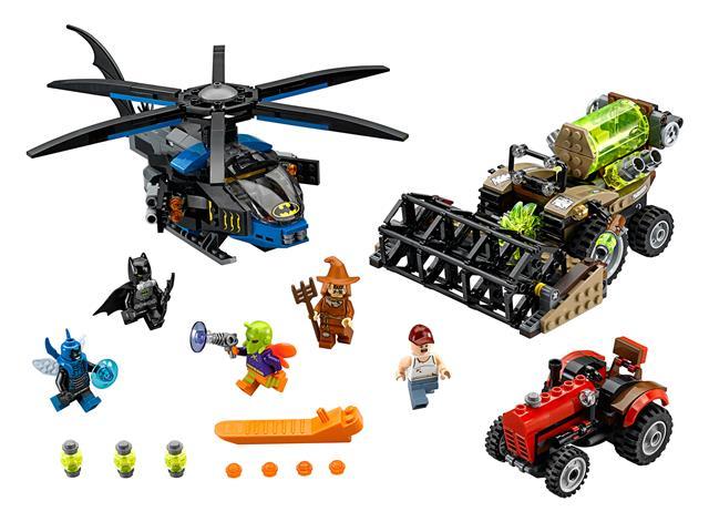 LEGO 76054 - LEGO Super Heroes - Batman™: Madárijesztő félelemara...