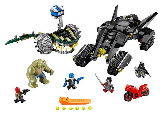 LEGO 76055 - LEGO Super Heroes - Batman™: Gyilkos Krok mocsári cs...