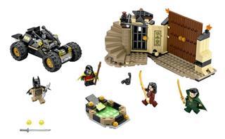 LEGO 76056 - LEGO Super Heroes - Menekülés Ra's al Ghul karmai közül