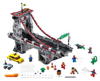 LEGO 76057 - LEGO Super Heroes - Pókember: Pókháló-harcosok utols...