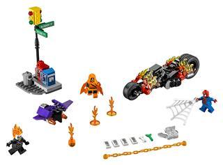 LEGO 76058 - LEGO Super Heroes - Pókember: összefogás Szellemlova...