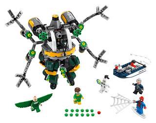 LEGO 76059 - LEGO Super Heroes - Pókember: Doc Ock csápcsapdája