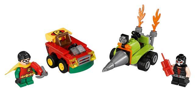 LEGO 76062 - LEGO Super Heroes - Mini szuperhős szett: Robin™ vs....