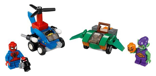 LEGO 76064 - LEGO Super Heroes - Mini szuperhős szett: Pókember v...