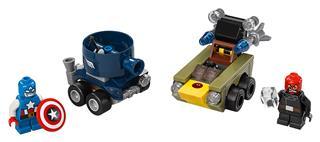 LEGO 76065 - LEGO Super Heroes - Mini szuperhős szett: Amerika Ka...