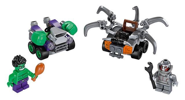 LEGO 76066 - LEGO Super Heroes - Mini szuperhős szett: Hulk vs. U...