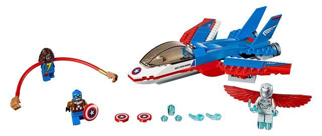 LEGO 76076 - LEGO Super Heroes - Amerika Kapitány küldet...