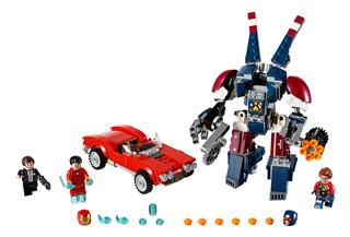 LEGO 76077 - LEGO Super Heroes - Vasember: Detroit Steel támadása