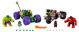 LEGO 76078 - LEGO Super Heroes - Hulk és Vörös Hulk összecsapása