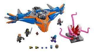 LEGO 76081 - LEGO Super Heroes - A Milano és Abilisk összecsapása