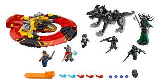 LEGO 76084 - LEGO Super Heroes - A végső ütközet Asgardért