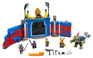 LEGO 76088 - LEGO Super Heroes - Thor és  Hulk: Összecsapás az ar...