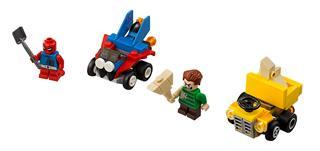 LEGO 76089 - LEGO Super Heroes - Mighty Micros: Skarlát Pók és Ho...