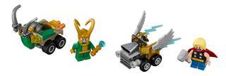 LEGO 76091 - LEGO Super Heroes - Mighty Micros: Thor és Loki össz...