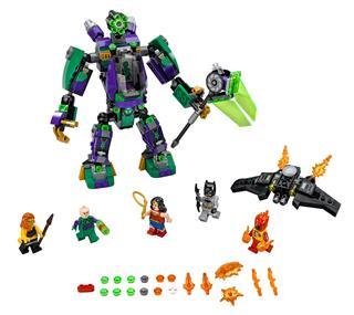 LEGO 76097 - LEGO Super Heroes - Lex Luthor™ robot támadása
