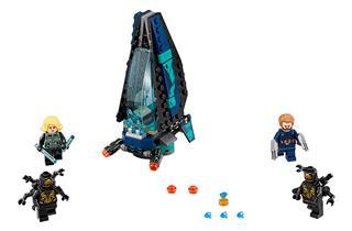 LEGO 76101 - LEGO Super Heroes - Outrider Dropship támadás