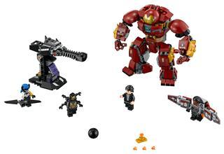 LEGO 76104 - LEGO Super Heroes - Hulkbuster összecsapás