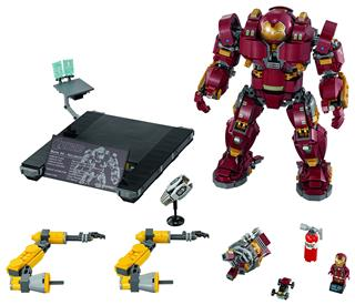 LEGO 76105 - LEGO Super Heroes - The Hulkbuster: Ultron Edition (...