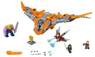 LEGO 76107 - LEGO Super Heroes - Thanos: végső ütközet