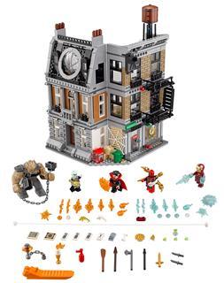 LEGO 76108 - LEGO Super Heroes - Leszámolás Sanctum Sanctorumnál