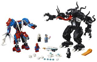 LEGO 76115 - LEGO Super Heroes - Pók robot Venom ellen