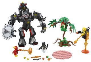 LEGO 76117 - LEGO Super Heroes - Batman™ robot vs. Méregcsók™ robot