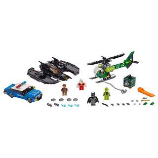 LEGO 76120 - LEGO Super Heroes - Batman Denevérszárny és Rébusz r...