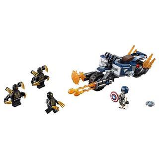 LEGO 76123 - LEGO Super Heroes - Amerika kapitány Outrider támadás