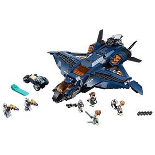 LEGO 76126 - LEGO Super Heroes - Bosszúállók Quinjet