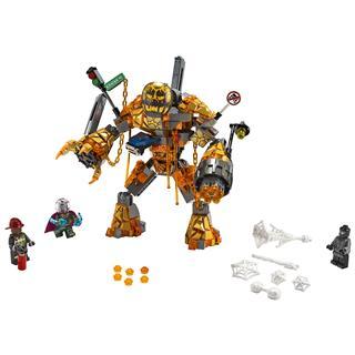 LEGO 76128 - LEGO Super Heroes - Olvasztár csatája