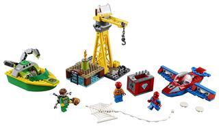 LEGO 76134 - LEGO Super Heroes - Doc Ock gyémántrablása