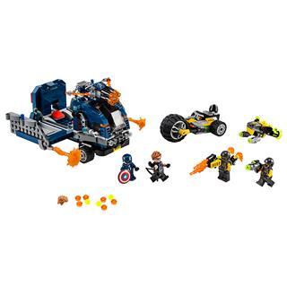 LEGO 76143 - LEGO Super Heroes - Bosszúállók Teherautós üldözés