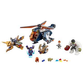 LEGO 76144 - LEGO Super Heroes - Bosszúállók Hulk helikopteres me...