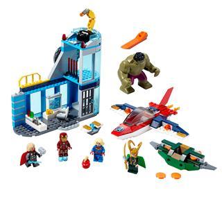 LEGO 76152 - LEGO Super Heroes - Bosszúállók Loki haragja