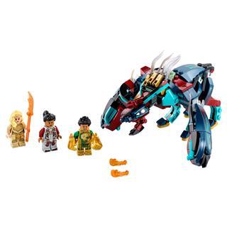 LEGO 76154 - LEGO Super Heroes - Marvel Deviáns rajtaütés!