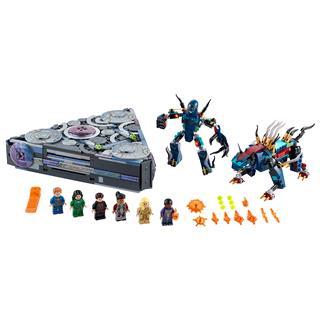 LEGO 76156 - LEGO Super Heroes - Marvel A Dóm felemelkedése