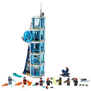 LEGO 76166 - LEGO Super Heroes - Bosszúállók Csata a toronynál