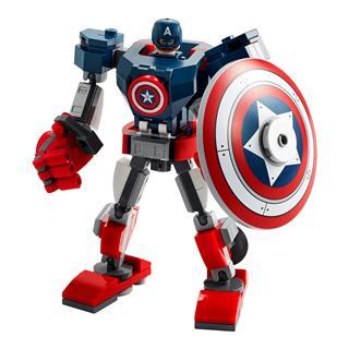 LEGO 76168 - LEGO Super Heroes - Amerika Kapitány páncélozott rob...