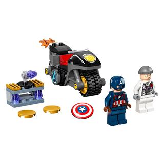 LEGO 76189 - LEGO Super Heroes - Amerika Kapitány és Hydra szemtő...