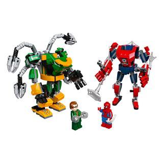 LEGO 76198 - LEGO Super Heroes - Pókember és Doktor Oktopusz robo...