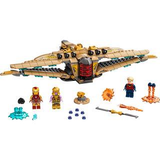 LEGO 76237 - LEGO Super Heroes - Menedék II: A végjáték csata