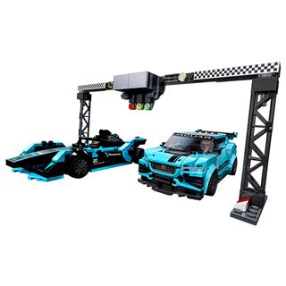 LEGO 76898 - LEGO Speed Champions - Formula E Panasonic Jaguar Ra...