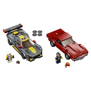LEGO 76903 - LEGO Speed Champions - Chevrolet Corvette C8.R Race ...