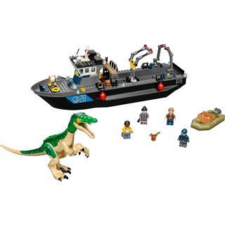 LEGO 76942 - LEGO Jurassic World - Baryonyx dinoszaurusz szökés c...