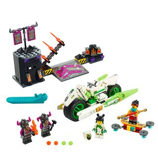 LEGO 80006 - LEGO Monkie Kid - Fehér Sárkány lovas motorja