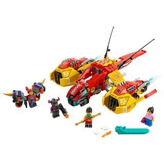 LEGO 80008 - LEGO Monkie Kid - Monkie Kid Felhõrepülõje